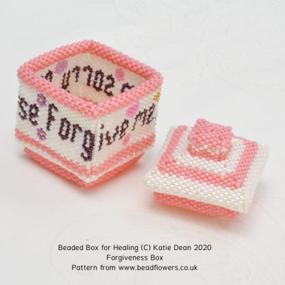Forgiveness box, Katie Dean, Beadflowers