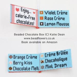 Sweet Dreams Beaded Chocolate Box, Katie Dean, Beadflowers