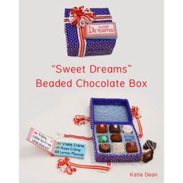 Beaded Chocolate Box Book, Katie Dean, Beadflowers