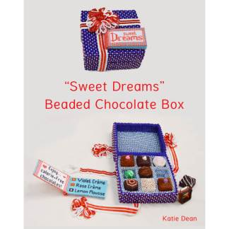 Beaded Chocolate Box Book, Katie Dean, Beadflowers