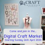 Digital Craft Market hosted by Ian W Wallace Ltd, Beadflowers, Beadwork by Katie Dean