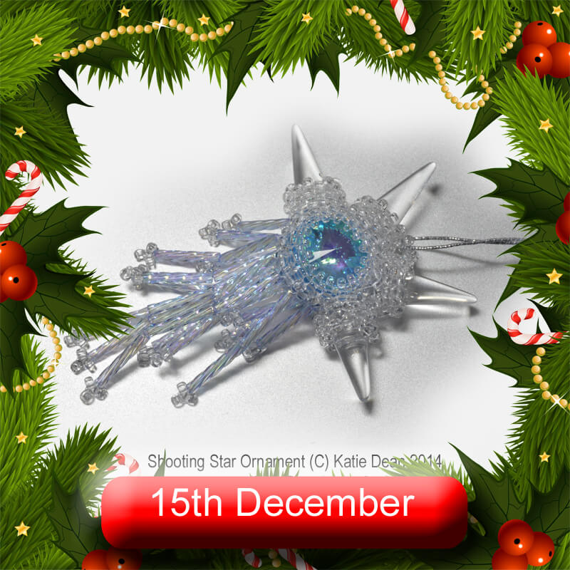 Beadflowers Advent Extravaganza, 15th December 2020, with Katie Dean