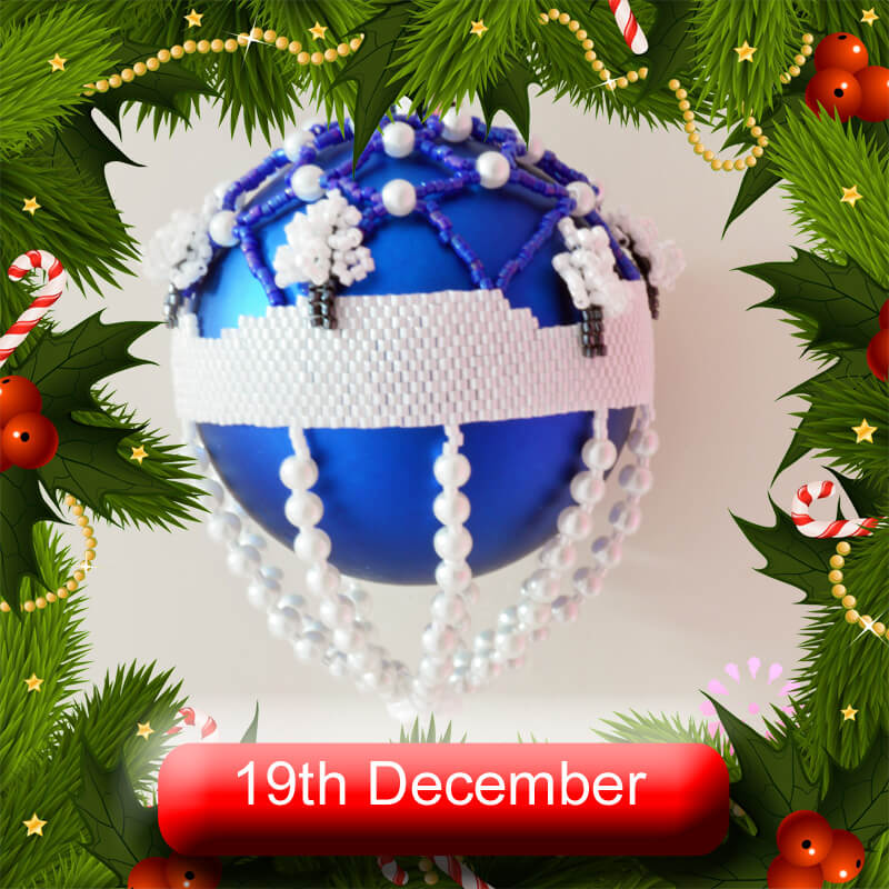 19th December 2020, beaded Advent
