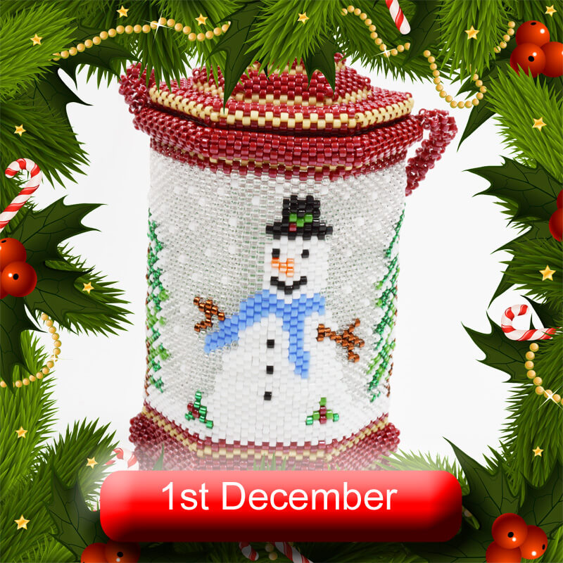 1st December Beadflowers Advent Extravaganza 2020