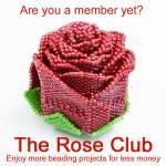 Launching the rose members club, Katie Dean, Beadflowers