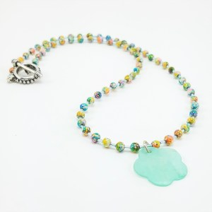 Mint Medley necklace