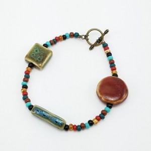 porcelain harvest bracelet