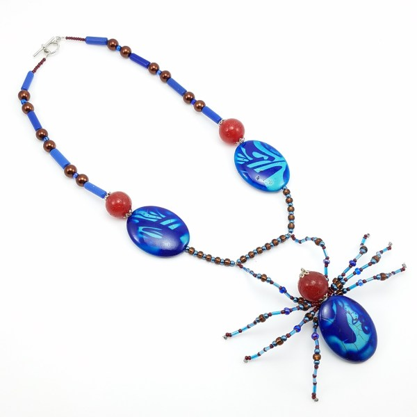 spider dance necklace