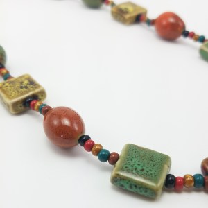 porcelain harvest necklace