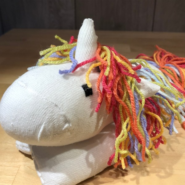 Unicorn Sock Creature