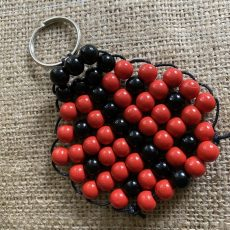 Wooden Beaded Ladybird