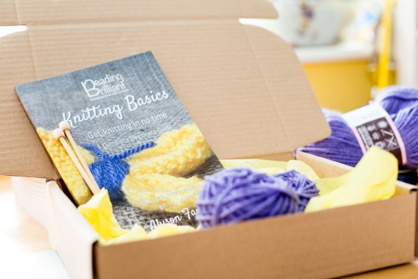 Knitting Craft Box Image