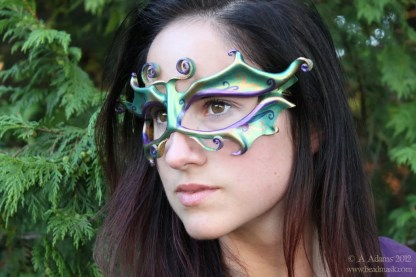 Faerie Mask - Green