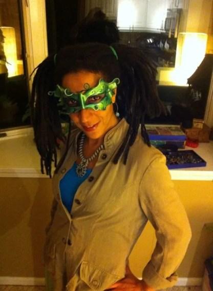 Fairy Mask - Green