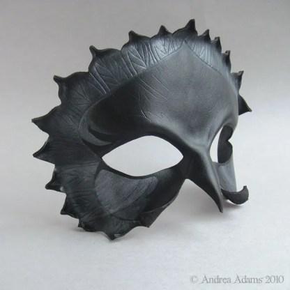 Jackdaw Leather Mask