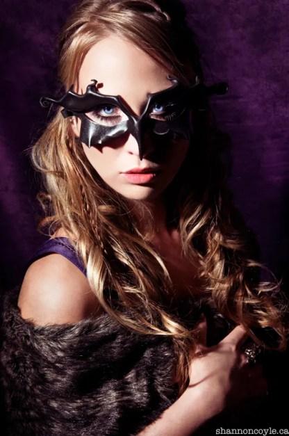 blackbird leather mask