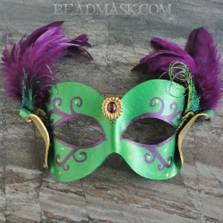 Mardi Gras gala mask