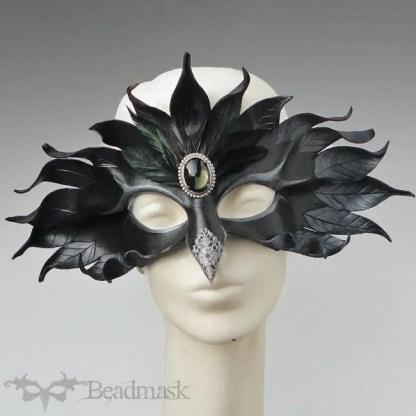 Silver Raven Mask