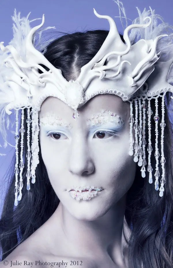 Ice Queen headdress © 2012 Andrea Adams