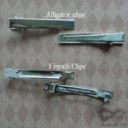 alligator clips and french clips
