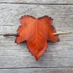 fall sycamore hair stick