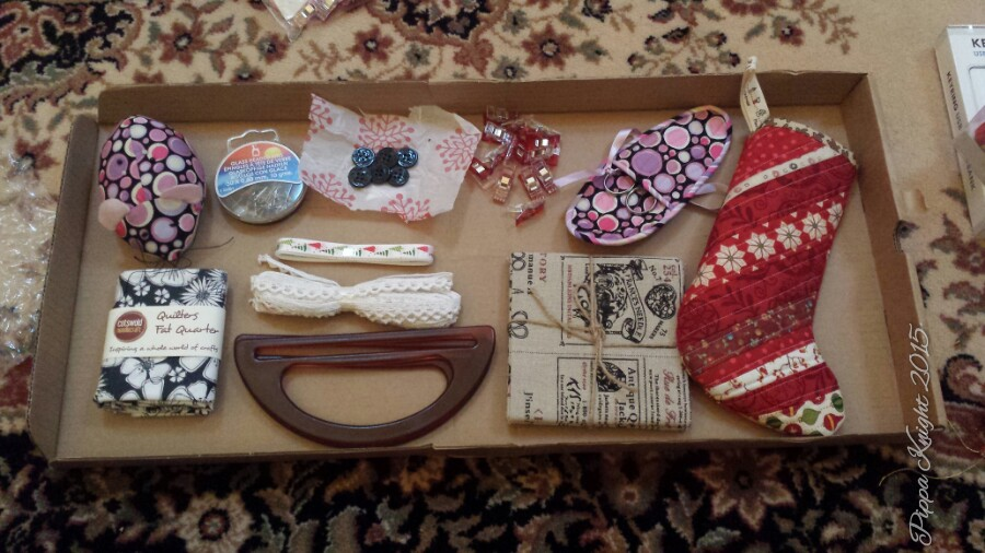 #stitchingSanta Sewing