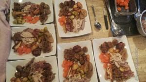 Christmas Dinner for 6