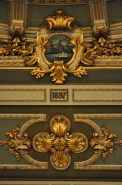 Ceiling detail, Teatro Nacional