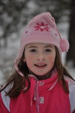Candid Snowgirl