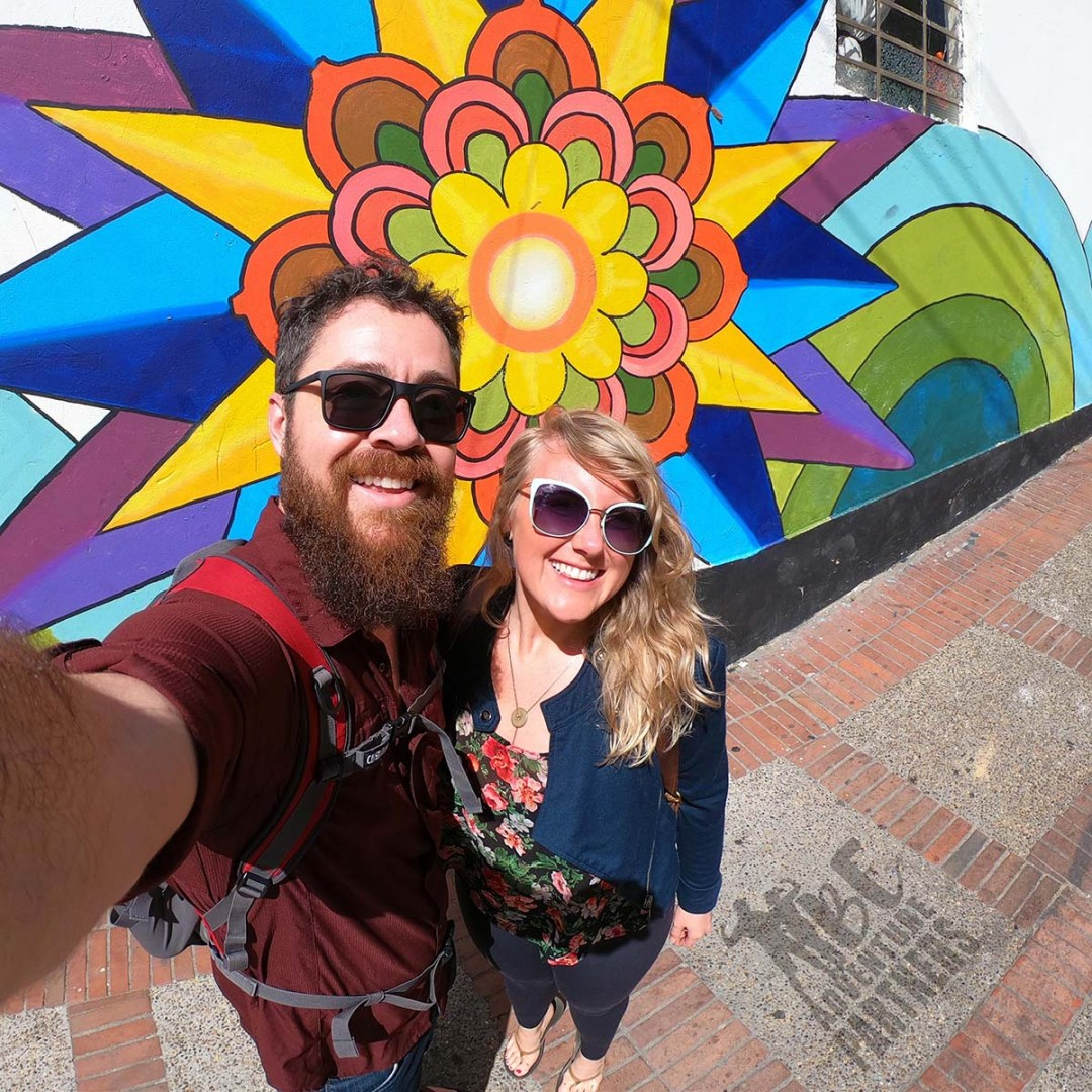 Brian and Erin - Bogotá, Colombia