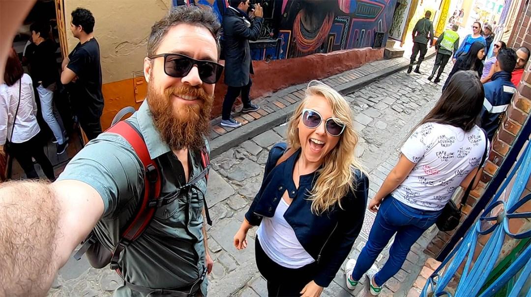 We're Learning How To Vlog In La Candelaria Bogotá