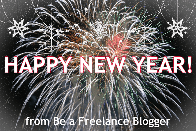 Happy new year from Be A Freelance Blogger :)