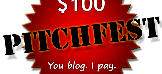 Pitchfest: Win $100 for Your Guest Post!
