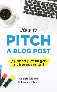 How to Pitch a Blog Post book cover