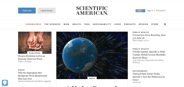 Scientific American hires freelance writers for science writing jobs