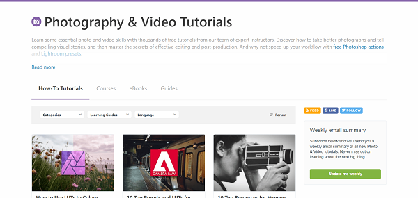Envato Tuts Plus Photography and Video hires writers for freelance tech writing gigs