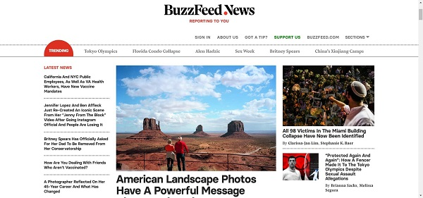 Buzzfeed pays writers for freelance style writing jobs