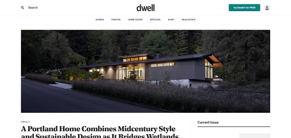 Dwell magazine pays freelance writers for style writing jobs