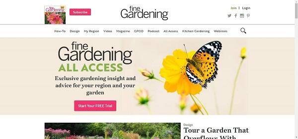Fine Gardening magazine hires freelance writers for style writing gigs.