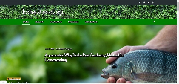Homestead blog pays writers for freelance gardening writing jobs