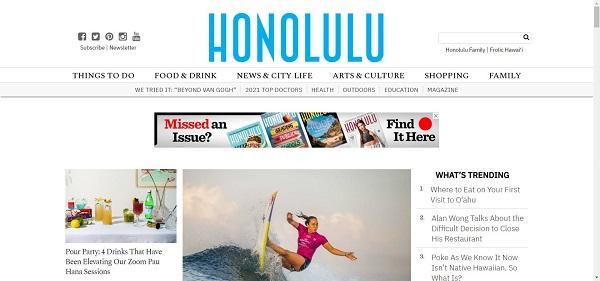 Honolulu magazine pays freelance writers for design writing gigs