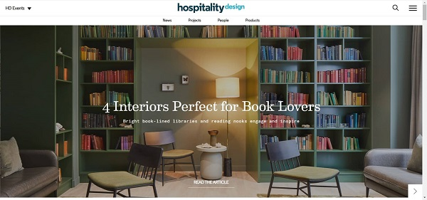 Hospitality Design hires freelance writers for design writing gigs.