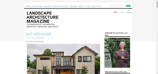 Landscape Architecture Magazine hires freelance writers for design writing gigs