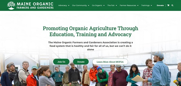 Maine Organic Farmers and Gardeners pays freelance writers for garden writing jobs