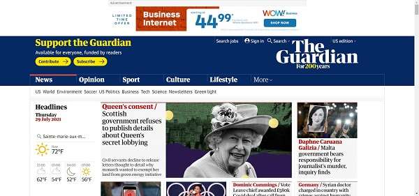 The Guardian hires freelance writers for style writing gigs.