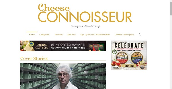 Cheese Connoisseur magazine hires food writers for freelance writing jobs