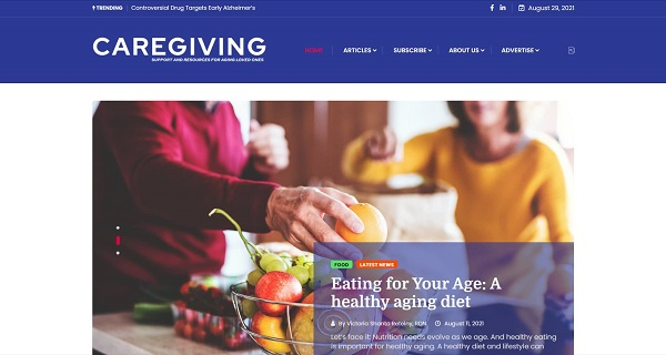 Chicago Health Caregiving magazine and blog hire freelance writers for food writing jobs