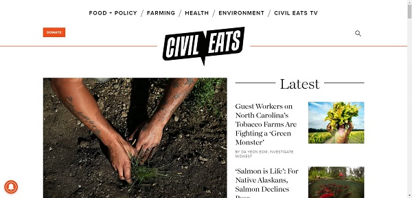 The Civil Eats blog hires writers for freelance food writing gigs