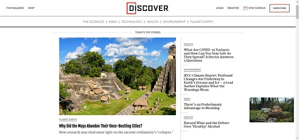 Discover magazine hires writers for freelance tech writing jobs