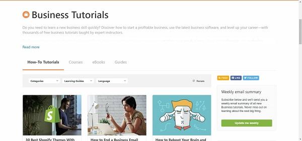 Envator Tuts Plus Business blog hires freelance writes for tech writing jobs